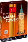 Cubic Fun 3D 17 Parça Puzzle Galata Kulesi (Kod:C098h)