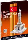 Cubic Fun 3D 61 Parça Puzzle İzmir Saat Kulesi (Kod:C168h)