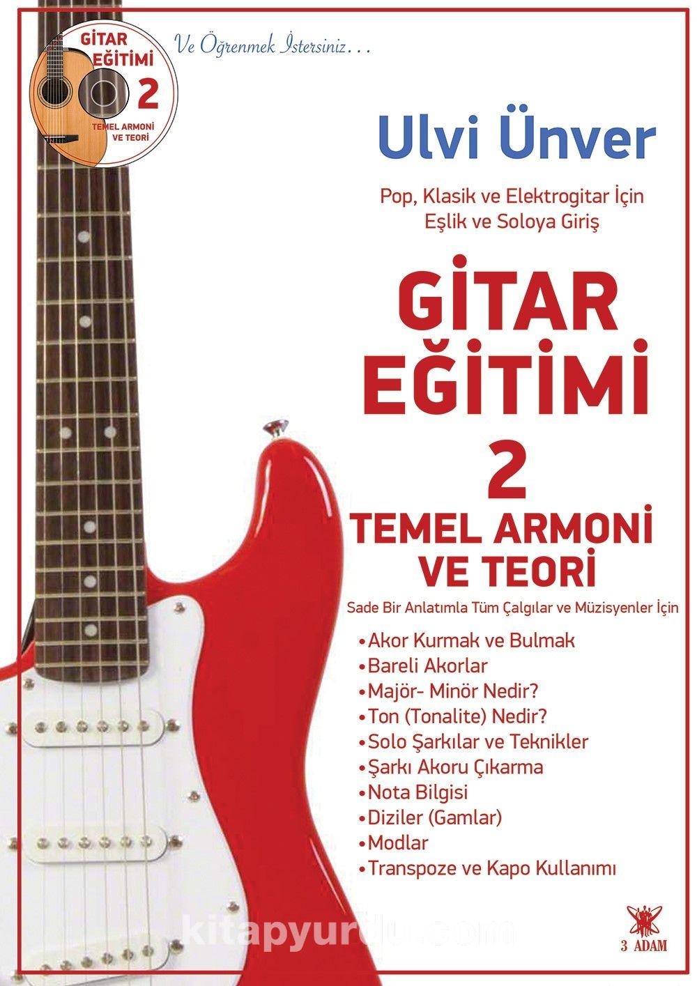 Gitar Eğitimi 2 - Ulvi Ünver pdf epub