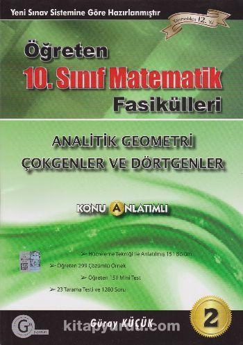 10.Sınıf Öğreten Matematik Fasiküleri Seti 2