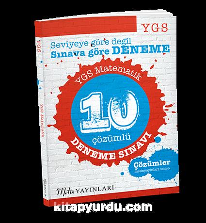 YGSMatematik 10 Çözümlü Deneme Sınavı
