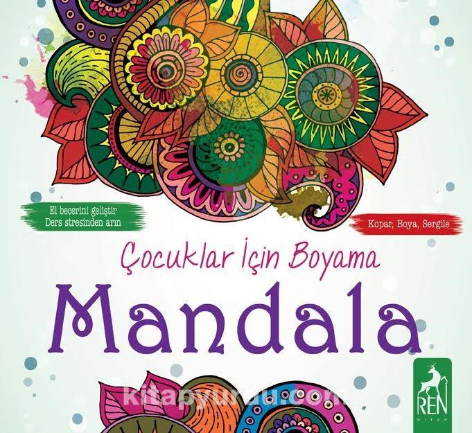 Cocuklar Icin Boyama Mandala Kollektif Kitapyurdu Com