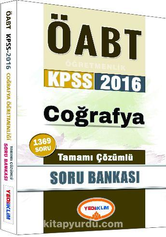 2016 KPSS ÖABT Coğrafya Tamamı Çözümlü Soru Bankası - Kollektif pdf epub