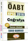 2016 KPSS ÖABT Coğrafya Tamamı Çözümlü Soru Bankası