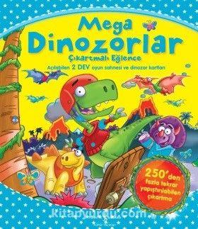 Mega Dinozorlar Çıkartmalı Eğlence - Kollektif pdf epub