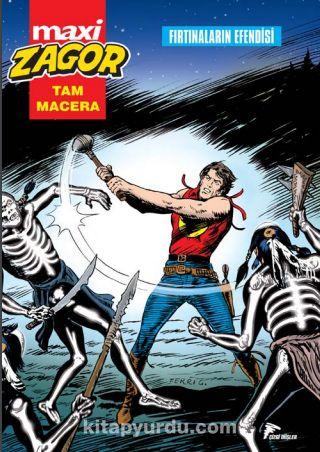 Maxi Zagor 8 / Fırtınaların Efendisi - Moreno Burattini pdf epub