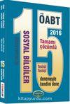 2016 ÖABT Sosyal Bilgiler Öğretmenliği 15 Tamamı Çözümlü Deneme (Fasikül Fasikül)