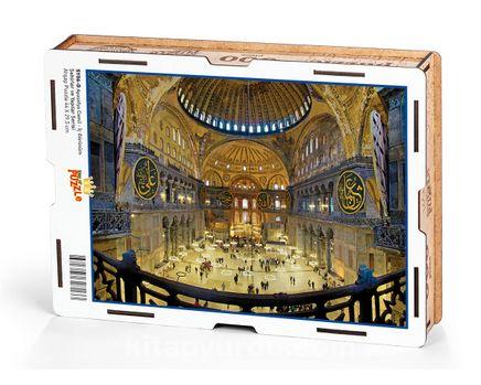 Ayasofya Camii - İç Görünüm Ahşap Puzzle 500 Parça (SY06-D)