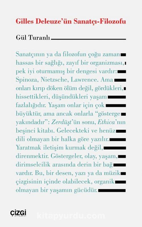 Gilles Deleuze'ün Sanatçı-Filozofu Ekitap İndir | PDF | ePub | Mobi
