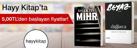 Hayy Kitap'ta 5,00 TL'den Başlayan Fiyatlar Kampanyası