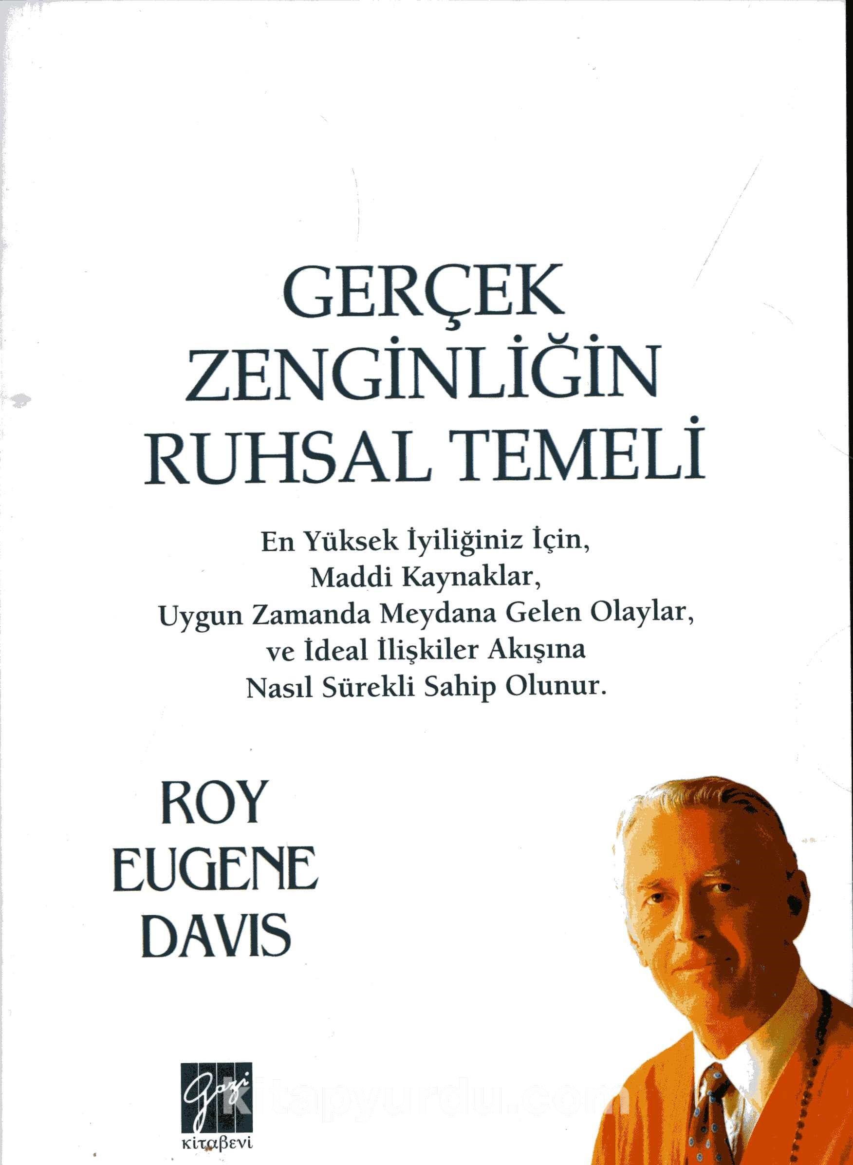 Gerçek Zenginliğin Ruhsal Temeli - Roy Eugene Davis pdf epub