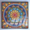Full Frame Duvar Sanatları - VitrayMandala - Onikili (FF-DSC051)