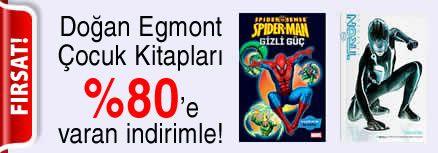 Doğan Egmont Çocuk Kitapları %80'e varan indirimle!