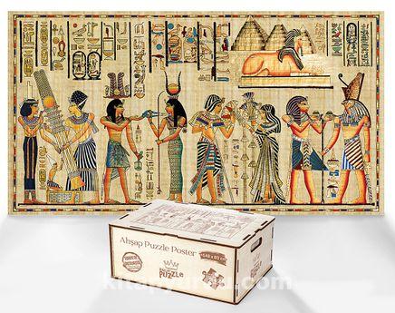 Piramitin Sırrı - Ahşap Puzzle Poster 242 Parça (PPCCL-102-MS)