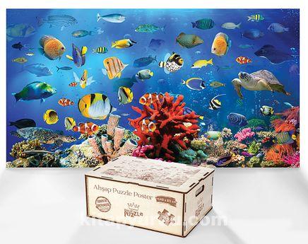 Panaromik Resif - Ahşap Puzzle Poster 242 Parça (PPCCL-101-HV)