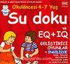 4-7 Yaş Su Doku EQ+IQ Geliştirici Oyunlar+İngilizce / Okul Öncesi