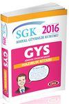 2016 SGK Görevde Yükselme Sınavına Hazırlık Konu Kitabı