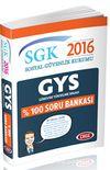 2016 SGK Görevde Yükselme %100 Soru Bankası