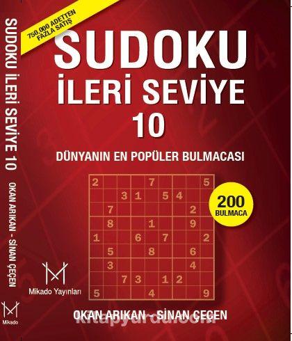 Sudoku İleri Seviye 10 - Sinan Çeçen pdf epub