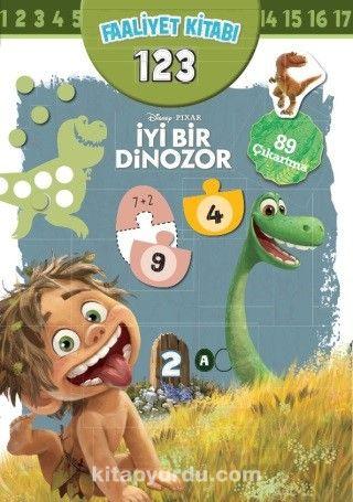 Disney İyi Bir Dinozor Faaliyet Kitabı 123