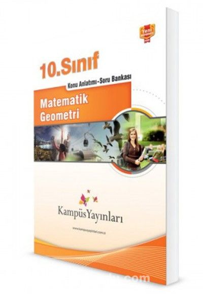 10. Sınıf Matematik Geometri Konu Anlatımlı Soru Bankası