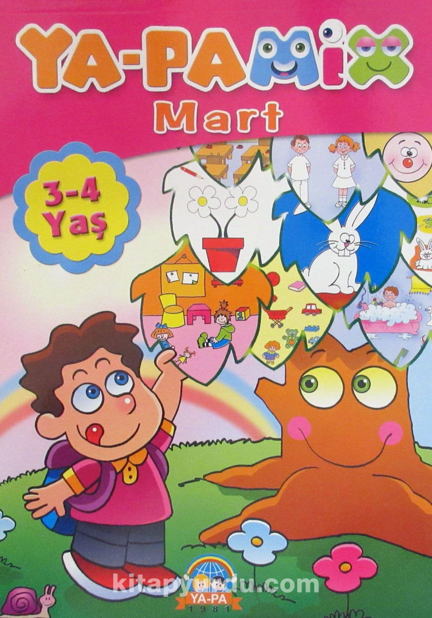 Ya-Pa Mix Mart (3-4 Yaş)