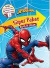 Marvel Spider - Man Süper Paket Boya ve Eğlen