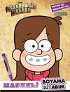 Disney - Esrarengiz Kasaba Maskeli Boyama Kitabım Mabel