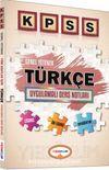2016 KPSS Genel Yetenek Türkçe Uygulamalı Ders Notları