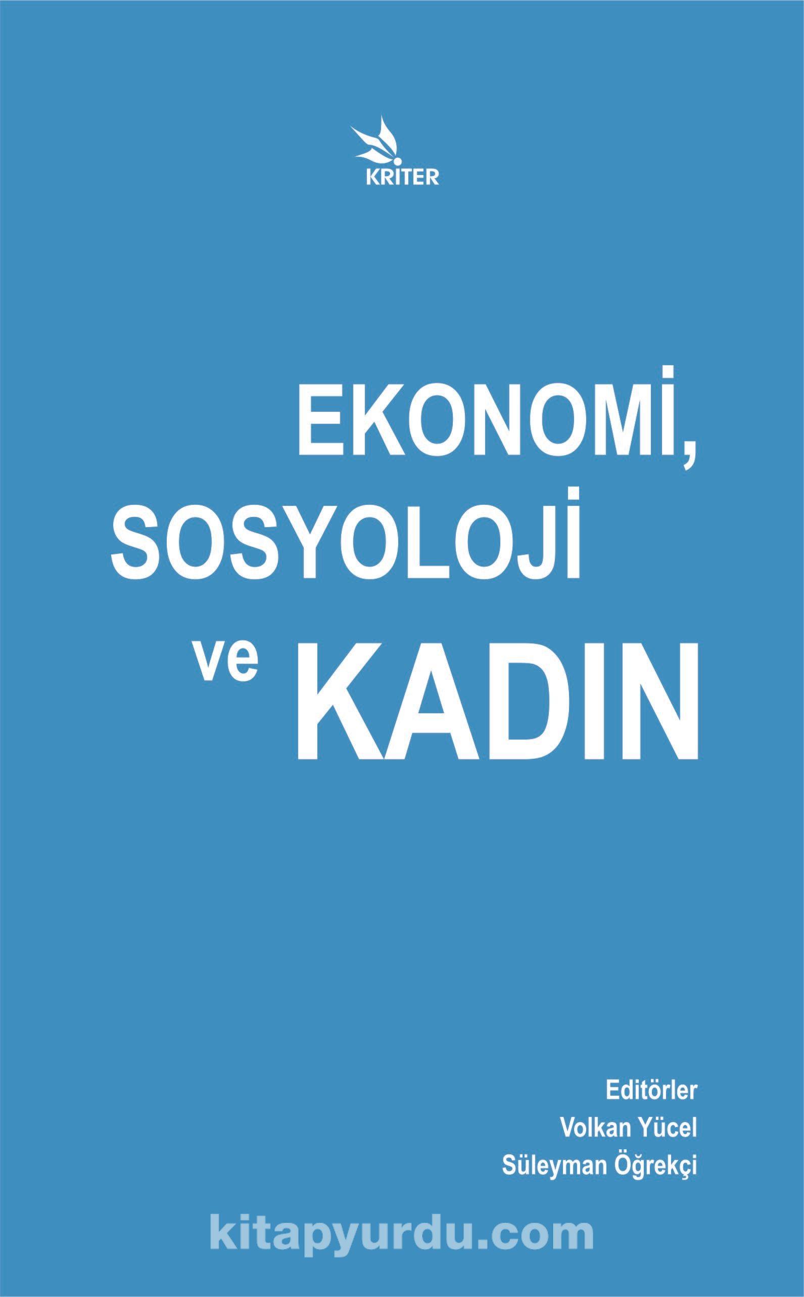 Ekonomi, Sosyoloji ve Kadın -  pdf epub