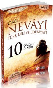 2016 ÖABT Nevayi Türk Dili ve Edebiyatı 10 Çözümlü Deneme (Çek Kopart Fasikül Deneme)