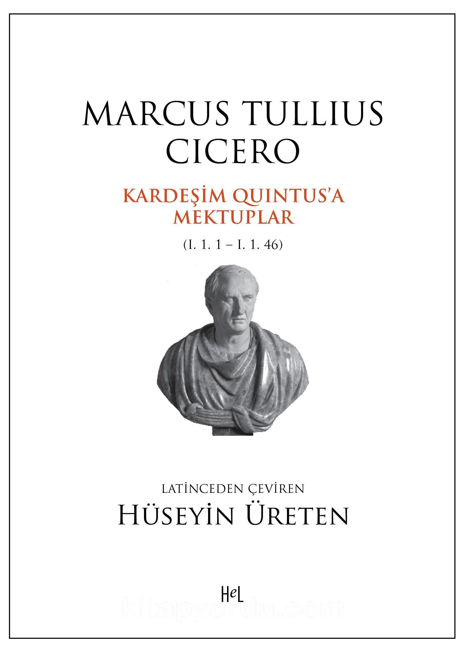 Kardeşim Quintus'a Mektuplar - Cicero pdf epub