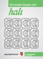 Halı - Türk Sanatları Boyama Serisi (20 Adet Kartpostal)