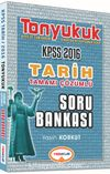 2016 KPSS Tonyukuk Tarih Tamamı Çözümlü Soru Bankası