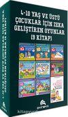 4-10 Yaş ve Üstü Çocuklar İçin IQ Zeka Geliştiren Oyunlar  (9 Kitap)