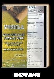 2016 KPSS-DGS-ALES Pusula Matematik Çek Kopart Yaprak Test (Tüm Adaylar İçin-Genel Kültür)