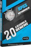 2016 KPSS Genel Kültür Vatandaşlık 20 Çözümlü Deneme