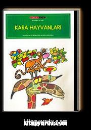 Kara Hayvanlari 16 Syf Renkli Boyama Kitabi Mustafa Delioglu