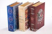 Osmanlı Kutu Seti (Kitap Şeklinde Ahşap Hediye Kutular)