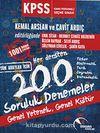 2016 KPSS Genel Kültür Genel Yetenek Her Dersten 200 Soruluk Denemeler