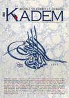 Kadem Üç Aylık Musiki ve Edebiyat Dergisi Sayı:19 / Bahar 2015