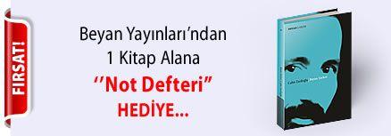 Beyan Yayınları'ndan 1 Kitap Alana '' Not Defteri '' Hediye...