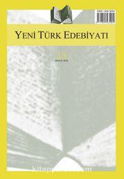 Yeni Türk Edebiyatı Hakemli Altı Aylık İnceleme Dergisi Sayı:13 Nisan 2016