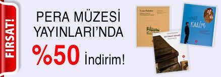 Pera Müzesi Yayınları'nda %50 indirim!