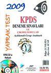 2009 KPDS Deneme Sınavları ve Çıkmış Sorular Yaprak Test & Açıklamalı Cevap Anahtarlı