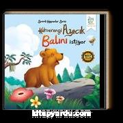Kahverengi Ayıcık Balını İstiyor / Sevimli Hayvanlar Serisi