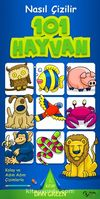 101 Hayvan & Nasıl Çizilir - 1. Kitap