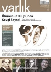 Varlık Aylık Edebiyat ve Kültür Dergisi Temmuz 2016