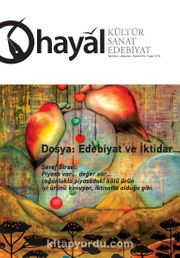 Hayal Kültür Sanat Edebiyat Dergisi Sayı:58 Temmuz-Ağustos-Eylül 2016
