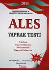 2011 ALES Yaprak Test